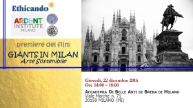 Evento GIANTS IN MILAN - Arte Sostenibile - Marco Eugenio Di Giandomenico