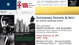 24.02.2017 - Sustainable Fashion & Arts - Marco Eugenio Di Giandomenico