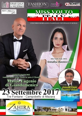 23.09.2017 - Miss Volto Italy, Finale in Sicilia - Marco Eugenio Di Giandomenico