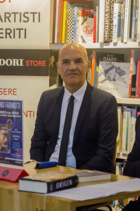 12.10.2017 - Presentazione del libro ORIGIN di Dan Brown - Marco Eugenio Di Giandomenico