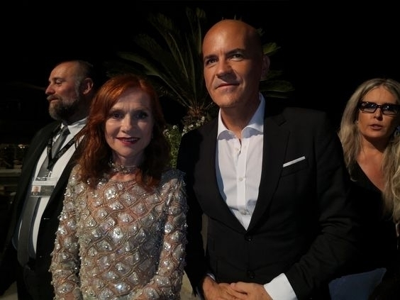 Marco Eugenio Di Giandomenico and Isabelle Huppert - Marco Eugenio Di Giandomenico