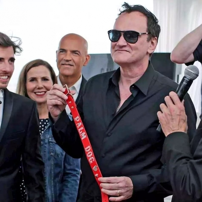 Marco Eugenio Di Giandomenico, Quentin Tarantino and Sally Phillips - Marco Eugenio Di Giandomenico